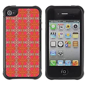 Perfectly-Diy Andre-case FlareStar Colour Printing amazing pattern Heavy Duty Armor Shockproof Cover Rugged case cover for Apple iPhone 4 vyBNGLlHaO2 / iPhone 4S