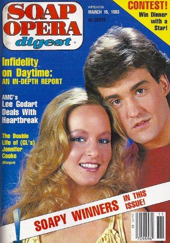 Jennifer Cooke, John Wesley Shipp, Guiding Light, Lee Godart, Actors Who Adore Playing Villains (Part 1) - March 15, 1983 Soap Opera Digest Magazine