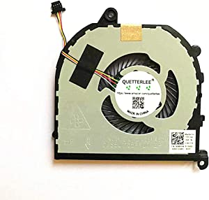 QUETTERLEE Replacement New CPU Cooling Fan for Dell XPS 15 9570 XPS 9570 Laptop 15.6 XPS9570-7996SLV-PUS Series 008YY9 DFS501105PROT FKCH CPU Fan