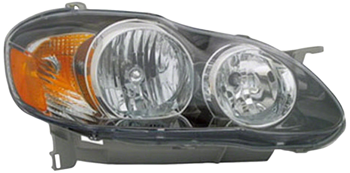 PartsChannel TO2503154OE OE Replacement Headlight Assembly