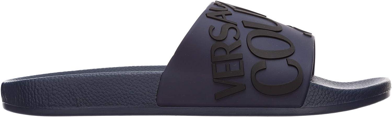 Versace Jeans Couture Hombre Chancla BLU