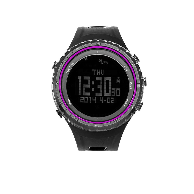 Sunroad Multifunktions fr801b Sport Armbanduhr - SchrittzÄhler Stoppuhr HÖhenmesser Barometer Thermometer compasstimer