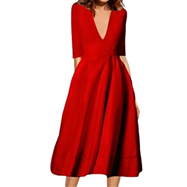 Maxi Dresses Long Sexy V Neck Long Sleeve Party Dress Women Female Vestidos Plus Size XXXL