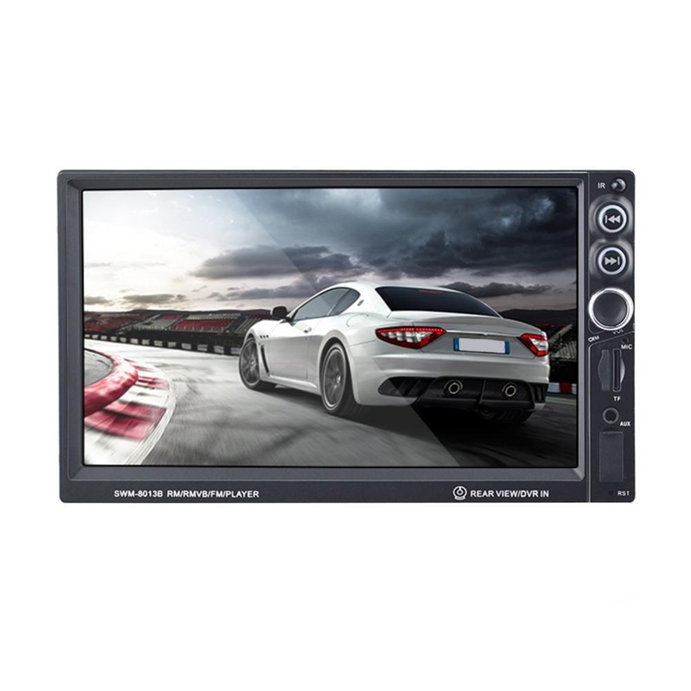 7インチ車オーディオmp4 mp5 Player with Bluetoothタッチ画面車FMラジオRear View B078VB1JXY