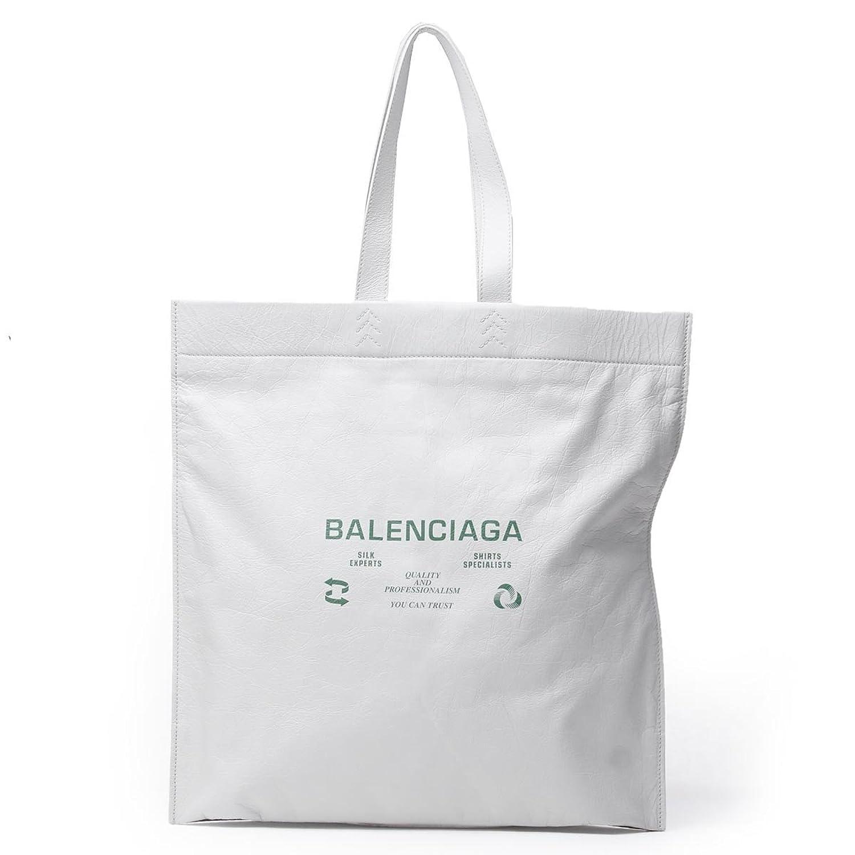 (バレンシアガ) BALENCIAGA トートバッグ SUPERMARKET SHOPPER L スーパーマーケット ショッパー L [並行輸入品] B07BQPMXPF