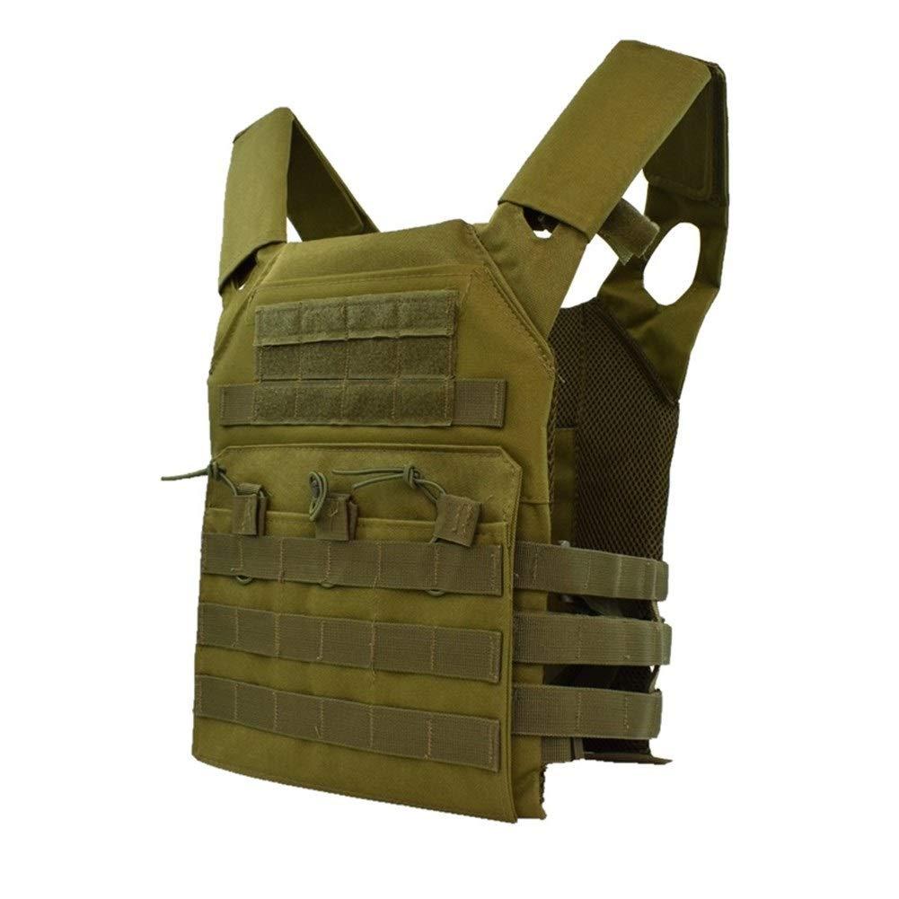 YUNGYE Chasse Tactique Corps Armure Plate Carrier Gilet en Plein Air CS Jeu Paintball Airsoft Gilet /Équipement Militaire