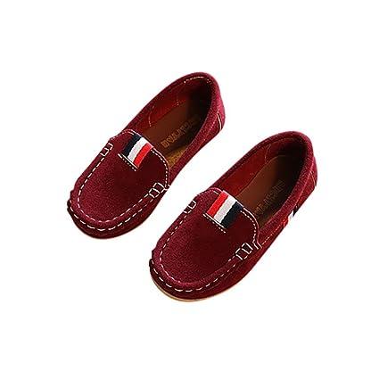 AutumnFall - Zapatos de piel suave para bebé con músculo de ...