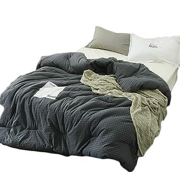 Amazon.com: Edredones de algodón lavado colcha de invierno ...
