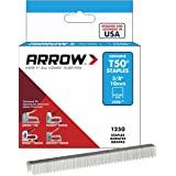 """Arrow Fastener 50624SPTP 3/8"""" T50 Staples"""