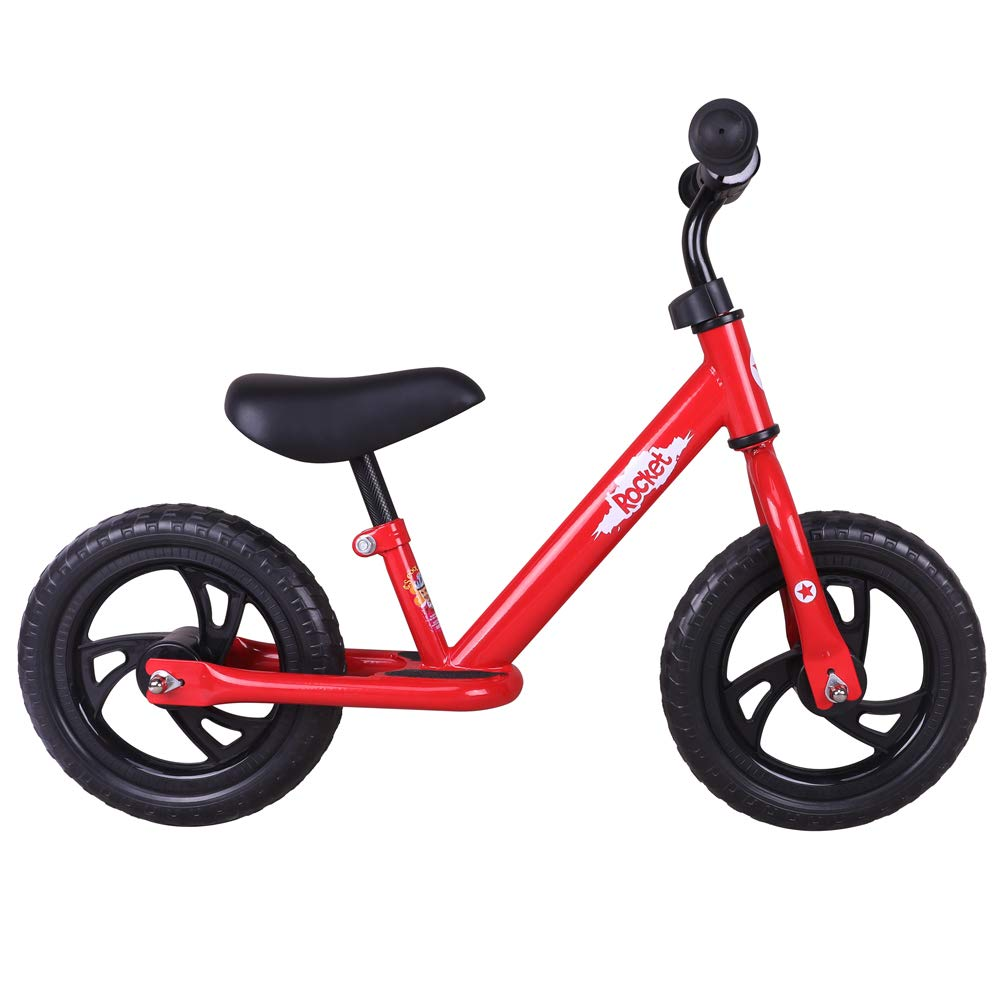 JOYSTAR 12 inch Balance Bike with for Child, Girls & Boys Glider/Slider Bike, No Pedal Bicycle for 2 3 4 5 Years Children, Pedaless Cycle, ( Blue, Green, Pink