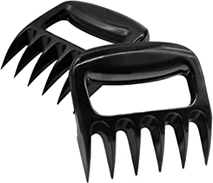 HYASIA Meat Claws-Fully Solid Meat Shredder,Bear Claws for Shredding Meat,BBQ Meat Shredder Claws,BPA Free,2pcs,Edible Grade PP Material,Various Meats Shredding,Pulling,Carrying and Lifting
