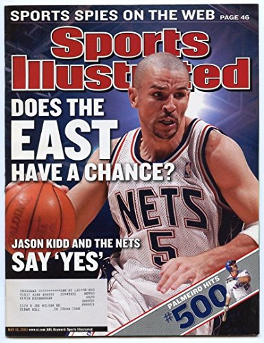 SI: Sports Illustrated May 19, 2003 Does the East Have a Chance: Jason Kidd Nets