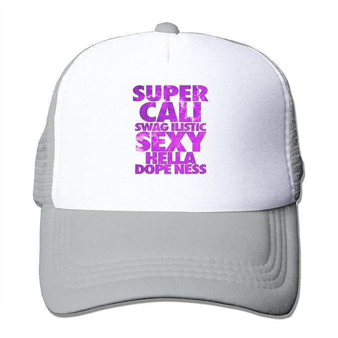 d17c819e1e4bf SUPER CALI SWAGILISTIC SEXY HELLA DOPENESS Sport Unisex Adjustable Trucker  Hats mesh Hats