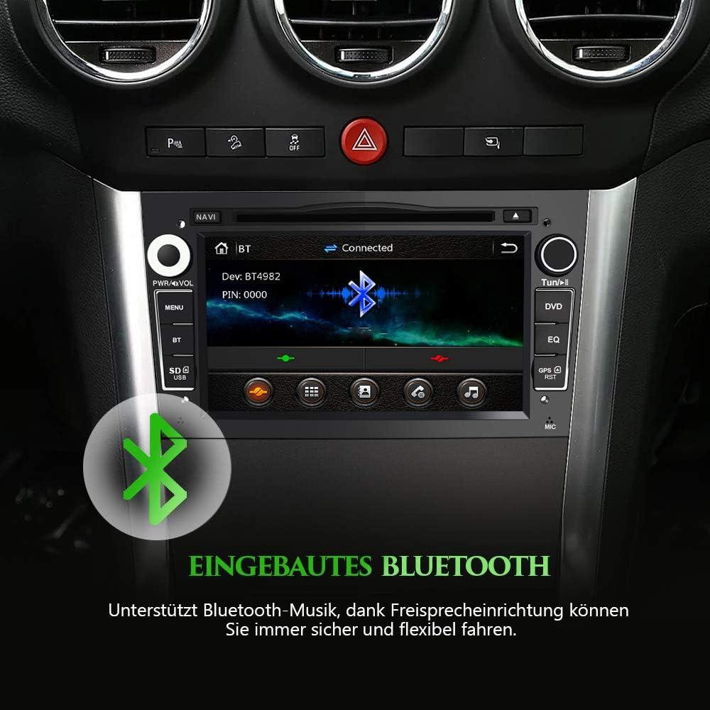 Awesafe 2 Din Autoradio Mit Navi Für Opel 7 Zoll Elektronik