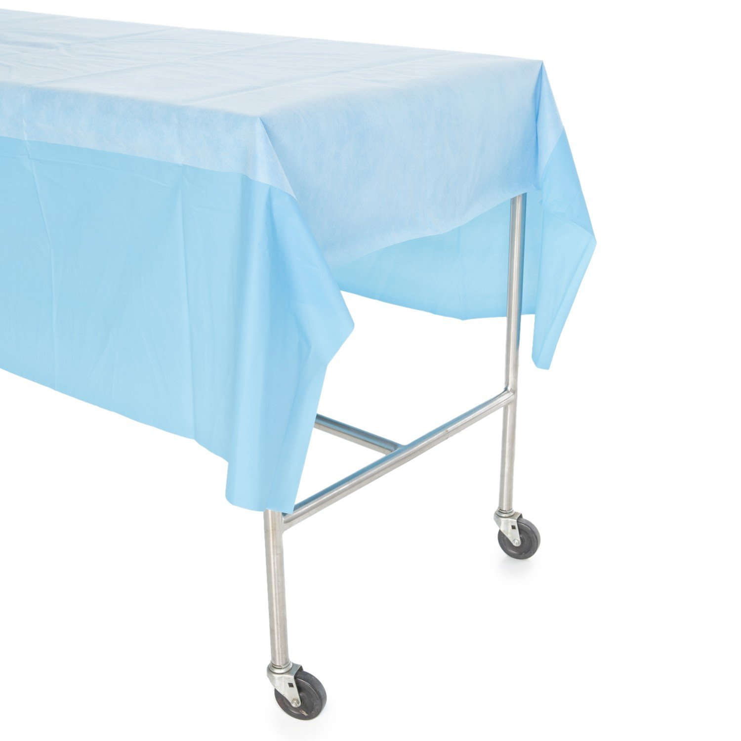 Halyard Health 78658 Basics Zone-Reinforced Back Table Cover, Non-Sterile, 44'' x 90'' (Pack of 70)