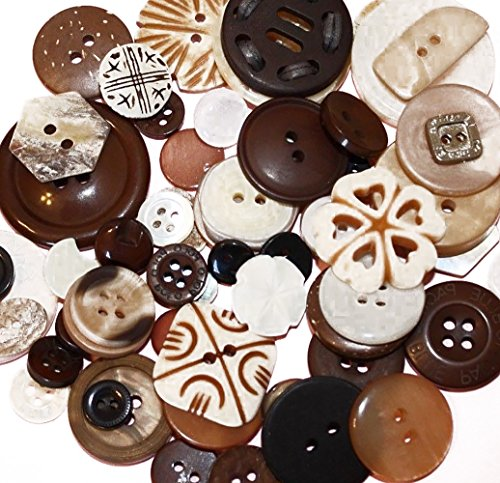 Fancy & Decorative {Assorted Sizes w/ 1, 2, 4 Holes} 50 Pack of