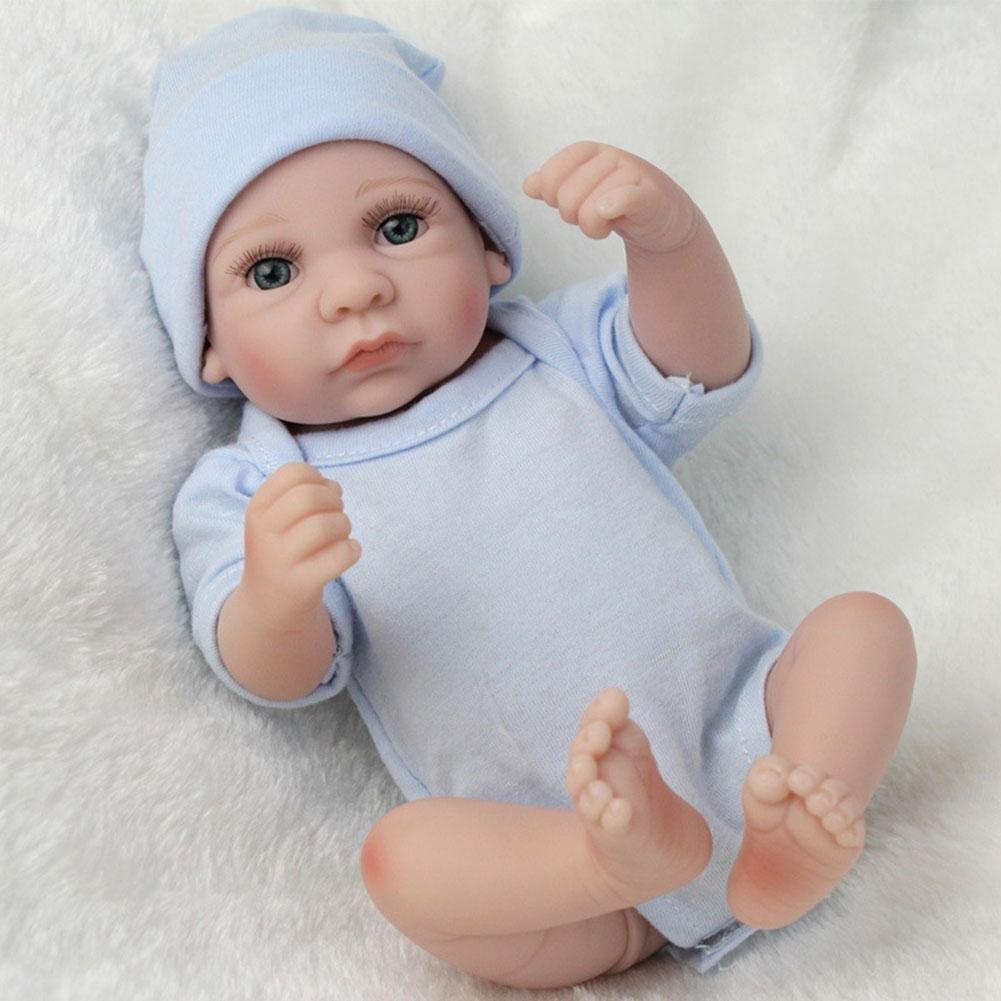シミュレーションllzj Rebornベビー人形SiliconeビニールLifelikeおもちゃ新生児リアルなボディ誕生日プレゼントギフトPlay House Lovelyおもちゃプリンセス早期教育28 cm   B07BBZ7ZX2