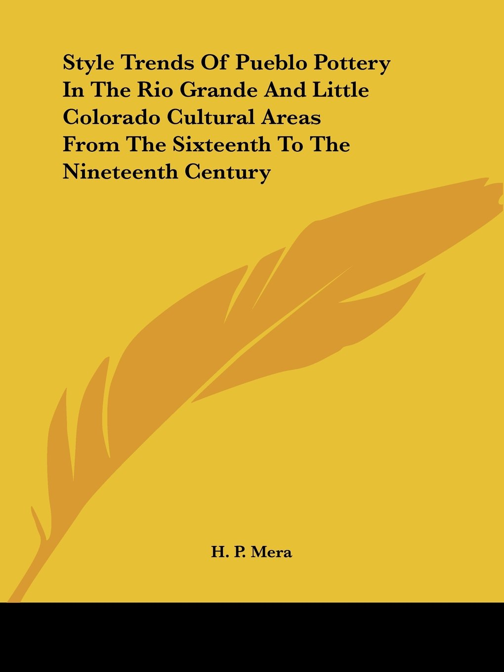 Read Online Style Trends Of Pueblo Pottery In The Rio Grande And Little Colorado Cultural Areas From The Sixteenth To The Nineteenth Century pdf