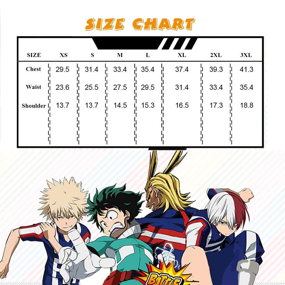 Anime Cosplay My Hero Academia Ochaco Uraraka/Izuku Blazer Cosplay Costume School Girls Boys Uniform Costume (Pants Set, S/Waist 24.41'') by KINOMOTO (Image #6)