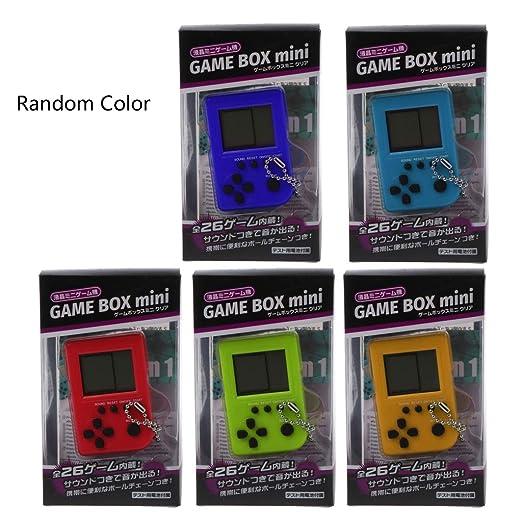 Green & Rare Tetris Mini Consola de Videojuegos para niños ...