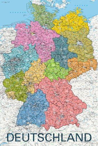 Amazon De Poster Deutschland Karte Politisch 2011 Mit