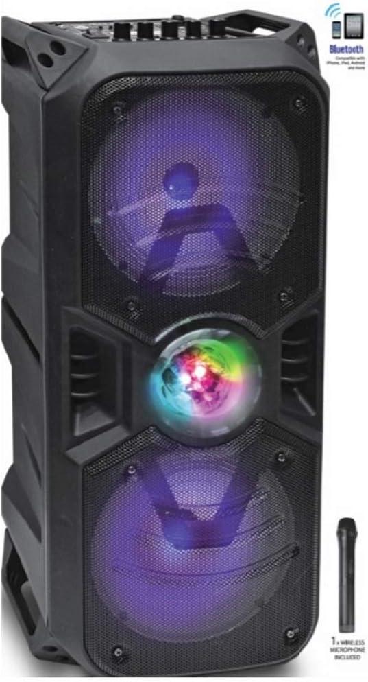 iDANCE XD1000 - Altavoz Trolley Color Negro, Bluetooth