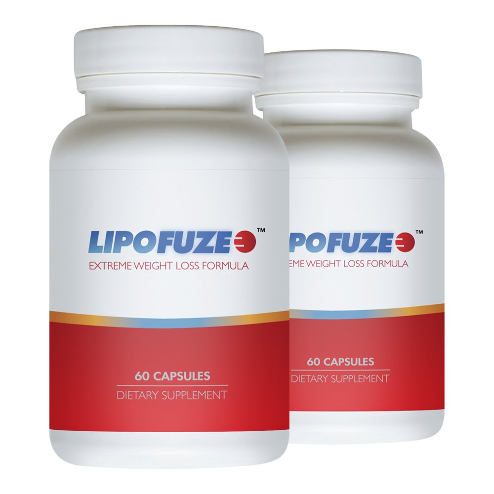 LIPOFUZE 2pack - Hardcore Weight Loss Pill - Weight Management Diet Pill , In Stock At Us, Faster Shipping !!