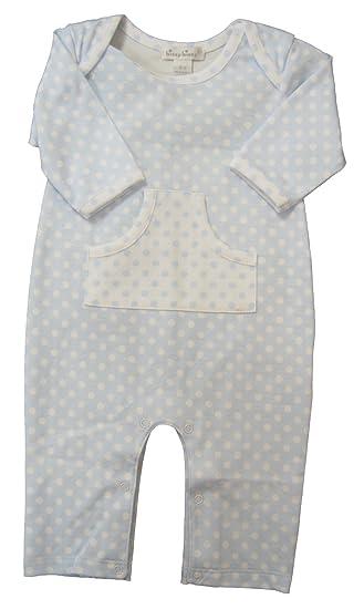 f9f9f9f4c06 Kissy Kissy Baby-Boys Infant Delectable Dots Print Playsuit-Blue-0-3