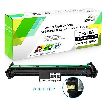 Unidad de Tambor Compatible CF219A 19A con Chip GREENPRINT 12000 ...