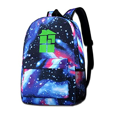 JoshuaEHenderson Galaxy School Backpack Homestuck Backpack Unisex Nebula Travel Backpack: Home & Kitchen