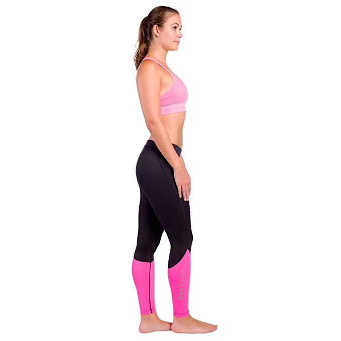 ac79d0a6ab Amazon.com : Zensah Women's XT Running Compression Tights : Clothing
