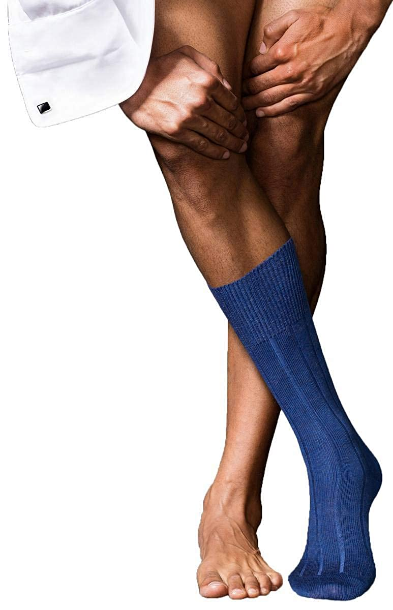 Night Blue Falke Mens No3 Finest Socks