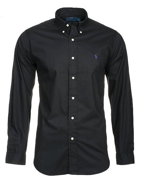 4a7aab377921c Camisas de algodón superior Polo Ralph Lauren