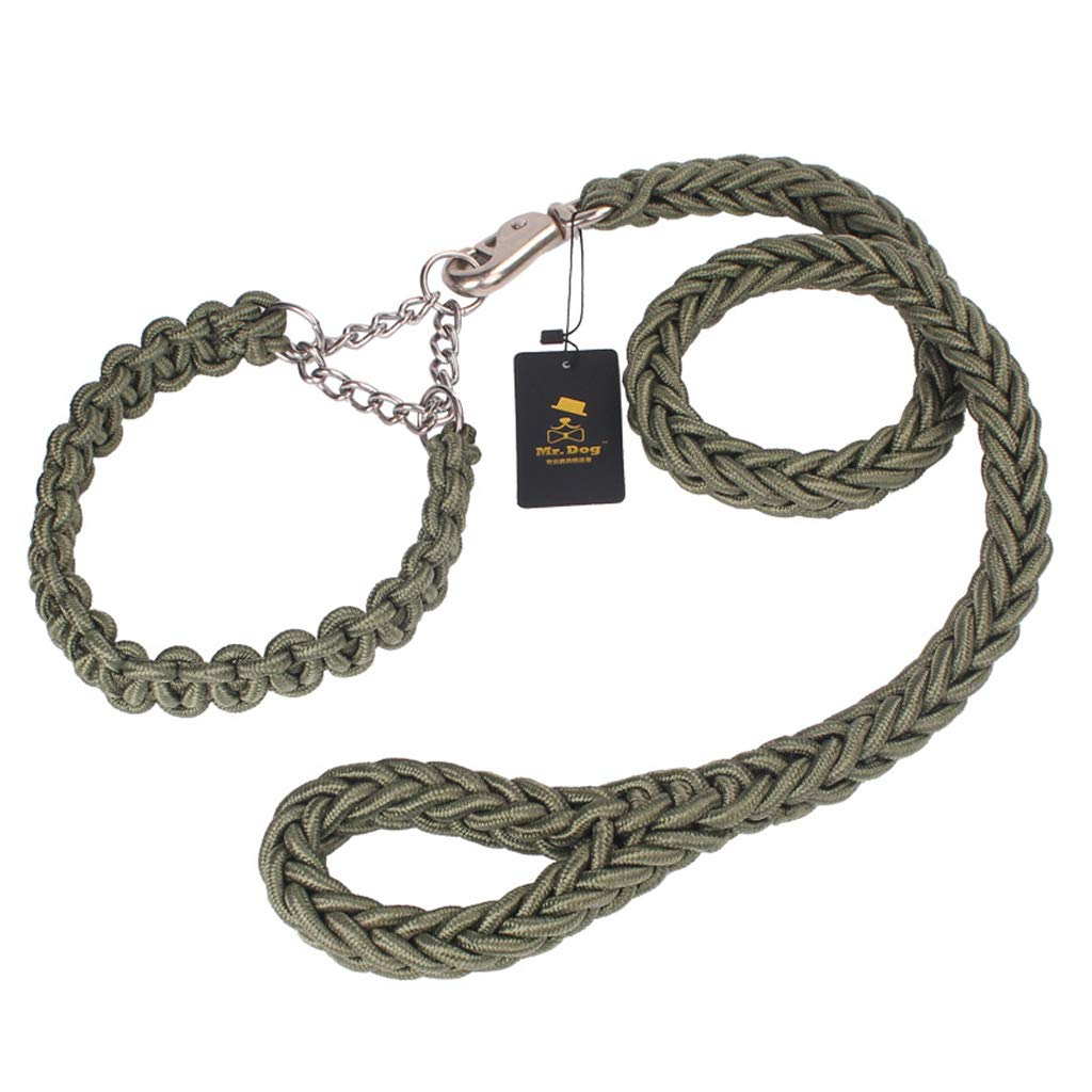 L Medium-Sized Large Dog Rope Collar Dog Chain Traction Rope Pet Supplies (Size   L)