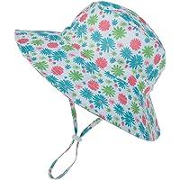 Bebé UPF 50+ Sombrero de Sol con Borde Ancho Ajustable