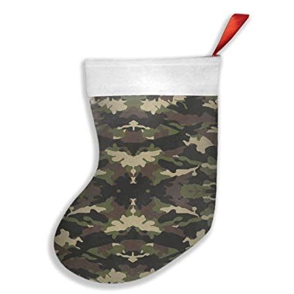 Amazon.com: CDW63 Camouflage Christmas Stockings,Stocking for Gifts ...