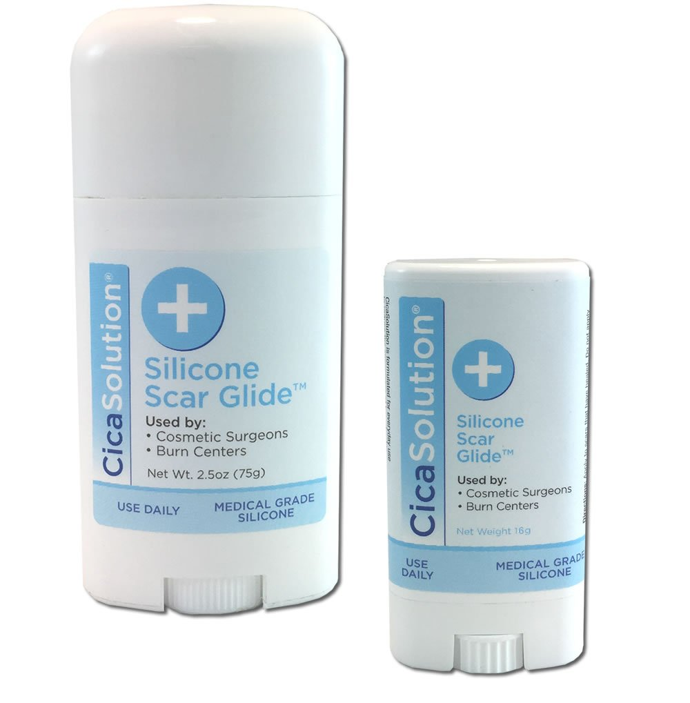 CicaSolution Scar Reducing Treatment for scars and wounds (Large 75g and 16g Travel size) by CicaSolution (Image #1)