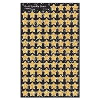 TREND enterprises, Inc. Gold Sparkle Stars superShapes Stickers-Sparkle, 400 ct