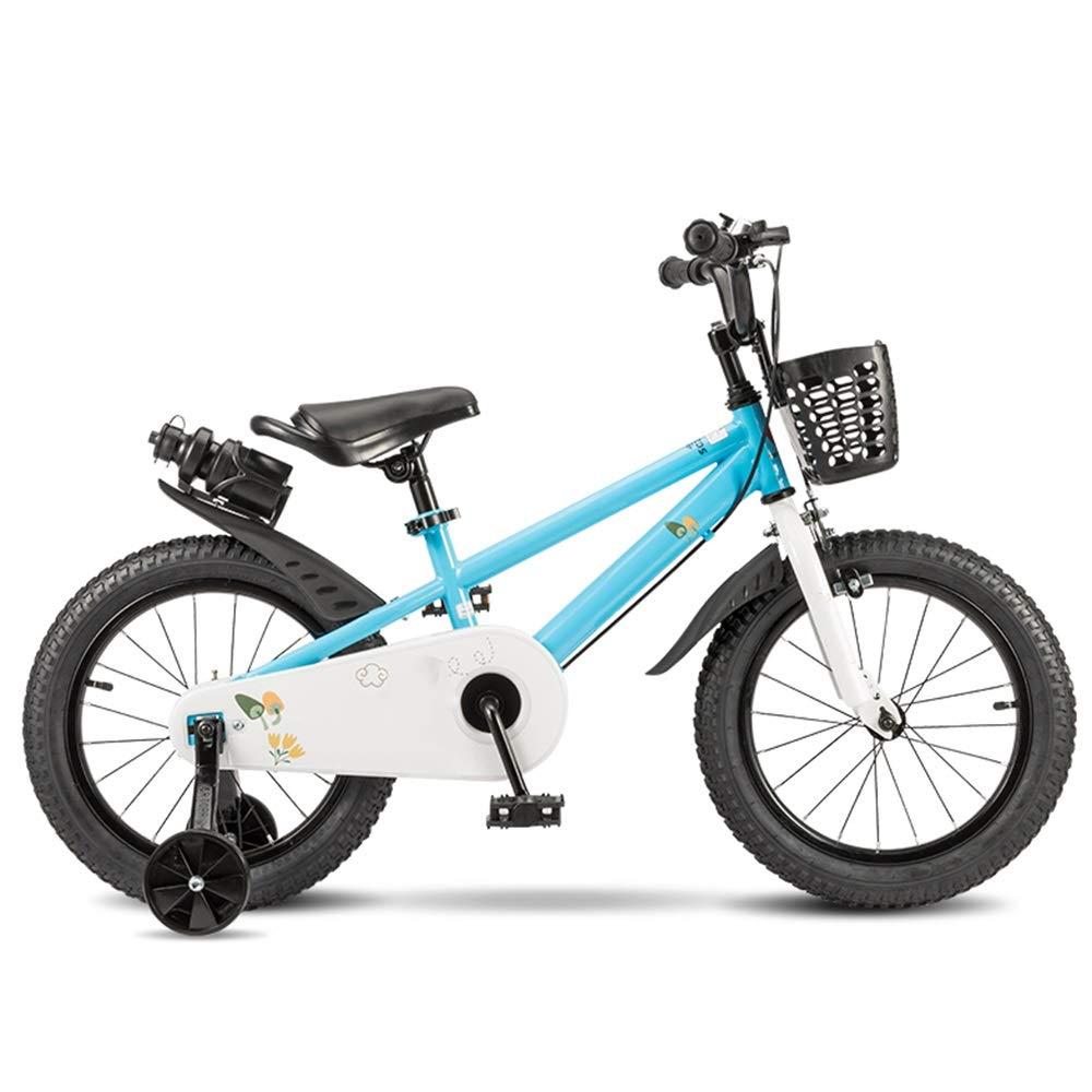 【70%OFF】 Axdwfd 子ども用自転車 キッズバイク子供用自転車12 B07PS92XQD/14/16/18インチトレーニングホイール付き男の子と女の子のサイクリング、子供に最適29歳の青 16in 16in 青 B07PS92XQD, CANVER-ONLINE キャンバー:9e03274f --- senas.4x4.lt