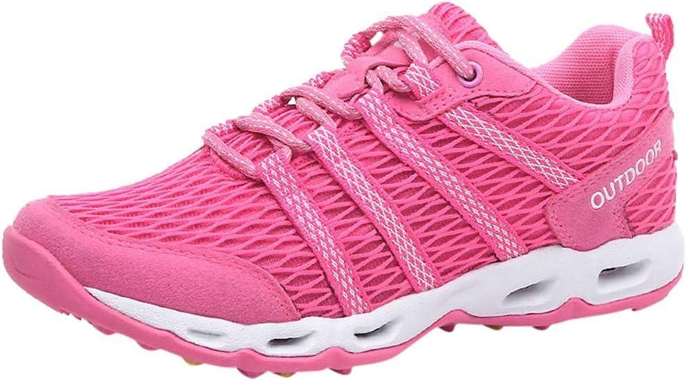 POLPqeD - Zapatillas de Deporte para Mujer, de Malla, Transpirables, de Verano, para Mujer: Amazon.es: Jardín