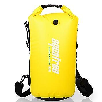 Aquafree Bolsa Seca, garantizar Cold-Weather Comodidad, 100% Impermeable Bolsa Seca para Aventura, flotando, Kayak, Bote, Rafting, natación, cenar ...