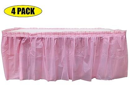 Amazon.com: Falda de mesa para carnaval, circo, cumpleaños ...