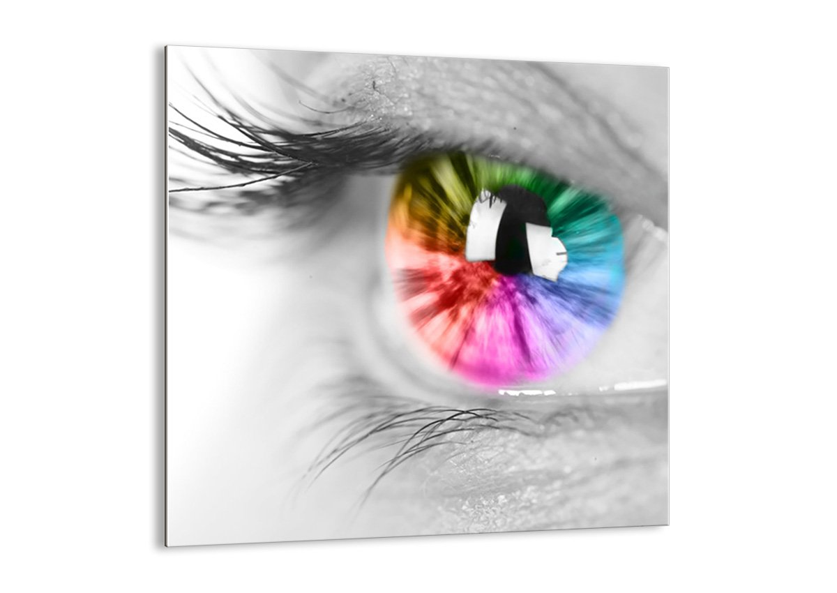 Glass Picture - Glass Print - 1 part - Width: 30cm, Height: 30cm (Width 11,8