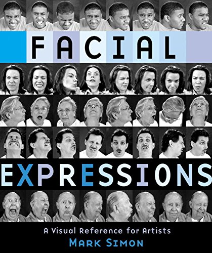 Facial Expressions Visual Reference Artists ebook product image