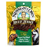 Newman's Own Organics Beef Jerky Treats For Dogs - Original - Case of 12 - 5 oz.