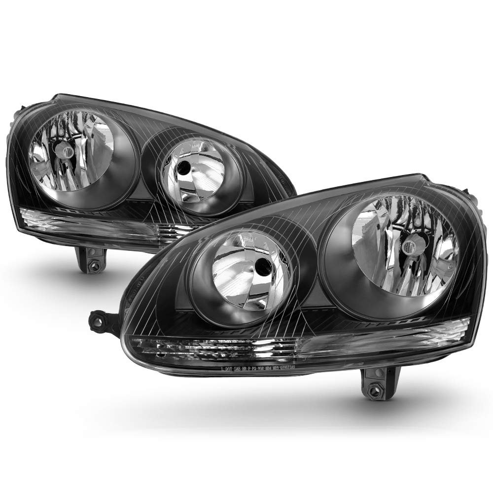 HID Headlight For 2005-2010 Volkswagen Jetta 2006-2009 Rabbit Passenger Side