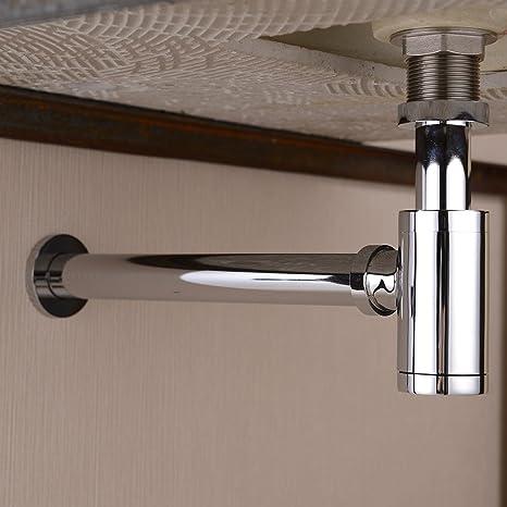 Amazon.com: NUEVO llave de cuarto de baño para lavabo (latón ...