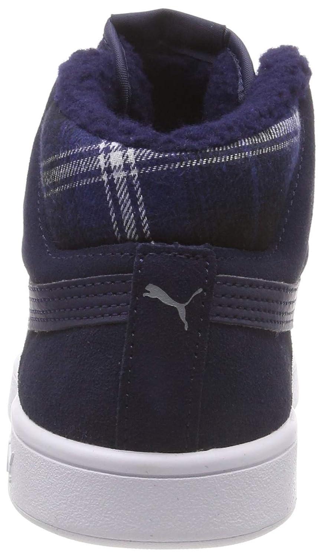46c60512066e Puma Smash v2 Mid Winterized Suede High-Tops  Puma  Amazon.de  Schuhe    Handtaschen