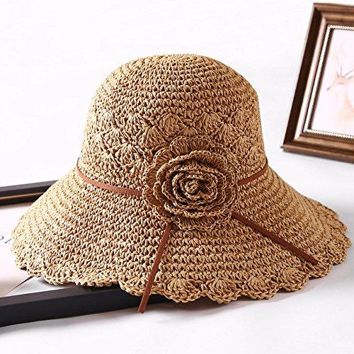 YMFIE Sommer Sonnenschutz Sonnencreme Sun Cap Outdoor - Urlaub Urlaub Urlaub am Strand Sun Cap Strohhut B07CGMR7SD Hüte Überlegene Qualität f3f91e