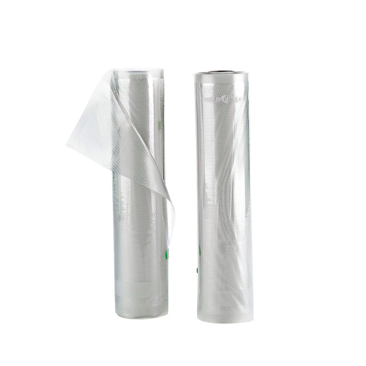 ShieldNSeal 11'' x 19.5' All Clear Vacuum Sealer Rolls SNS 1500